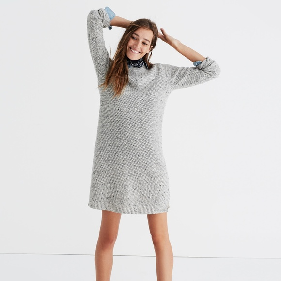 b1867ee7934 Madewell Dresses   Skirts - Madewell Button-Back Sweater Dress